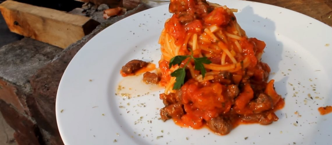 The Best Spaghetti Bolognese recipe outdoor